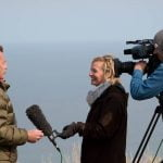 Emma interviews Chris Packham on Springwatch