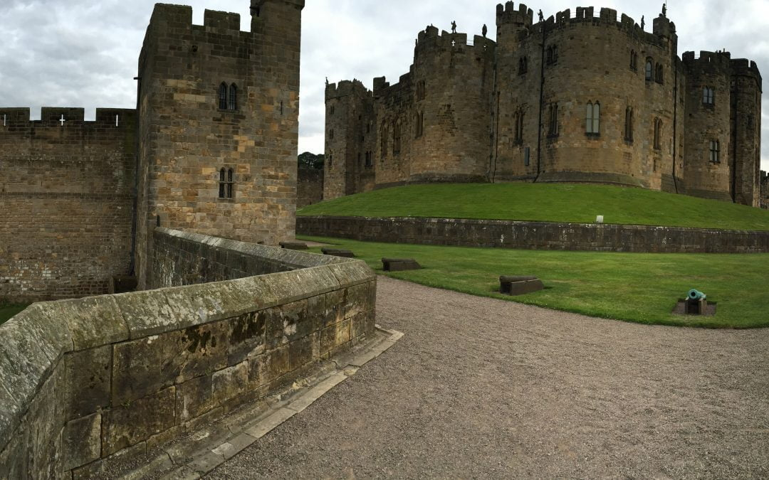 A 'magical' wedding at Alnwick Castle