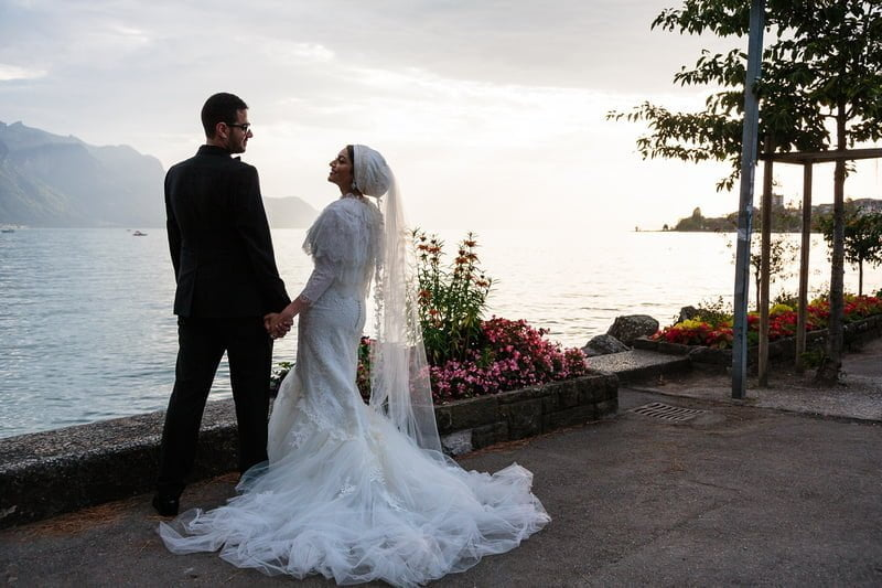 Fairmont Le Montreux Palace - a Lake Geneva wedding