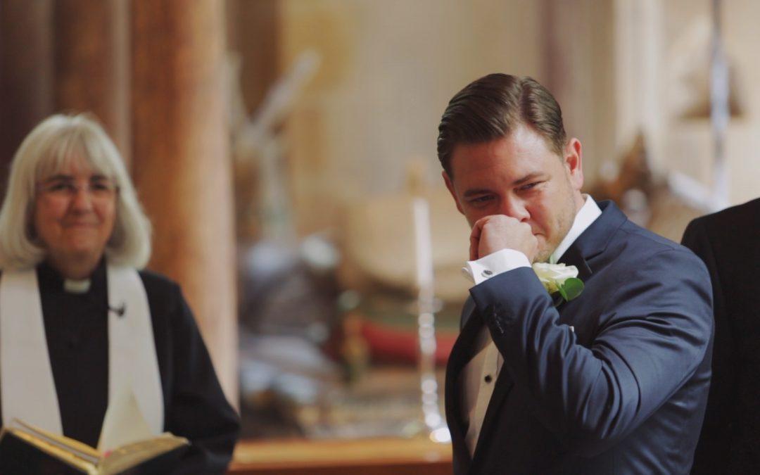 EMOTIONAL GROOMS MAKE WONDERFUL WEDDING FILMS