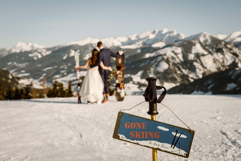 Zell am See Austria wedding film