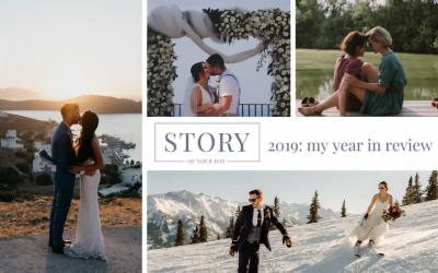 2019 :UNE ANNÉE DE VIDÉOGRAPHIE DE MARIAGE INTERNATIONALE