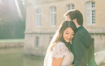 A Stunning Dijon Cathedral Wedding With a Château Twist