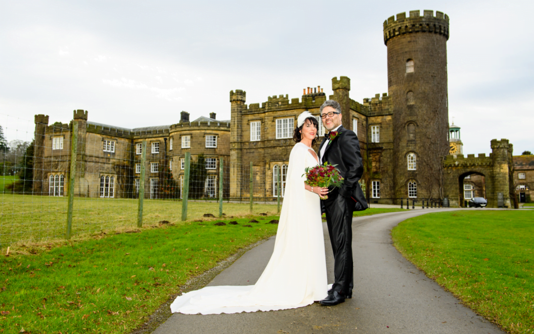 A Christmas wedding in a stunning country estate