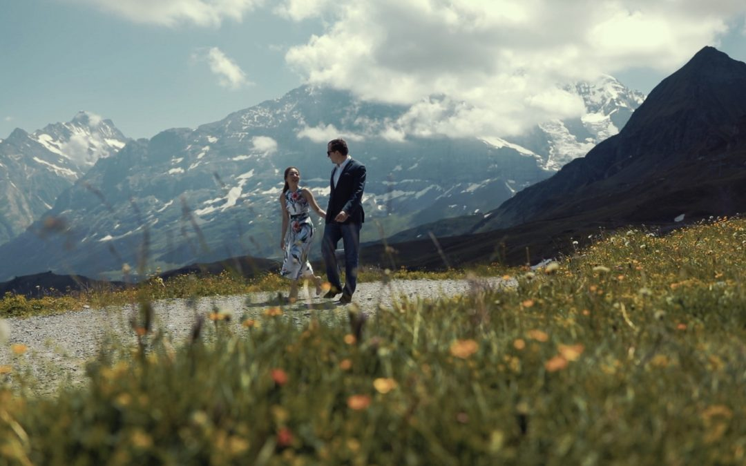 A beautiful swiss wedding on lake zug