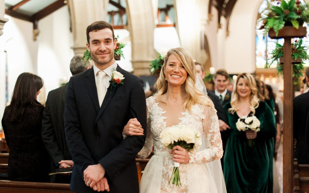 Be Inspired by This Gorgeous Perfect Winter's day Wedding