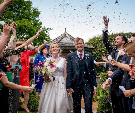 Pop Group Bastille Steals Show at Yorkshire Wedding
